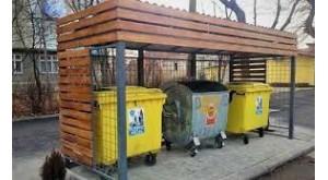 Containere pentru deşeuri menagere, platforme