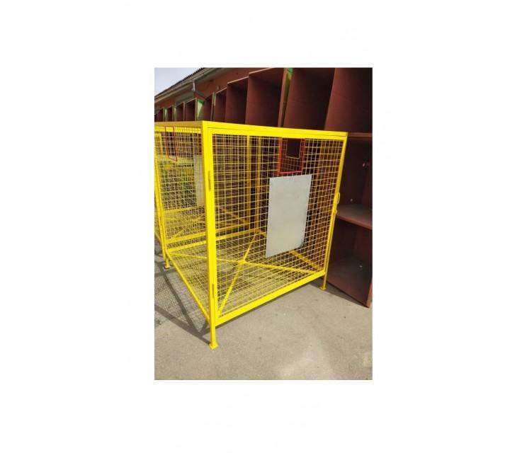 Container din plasă pentru deşeuri din plastic