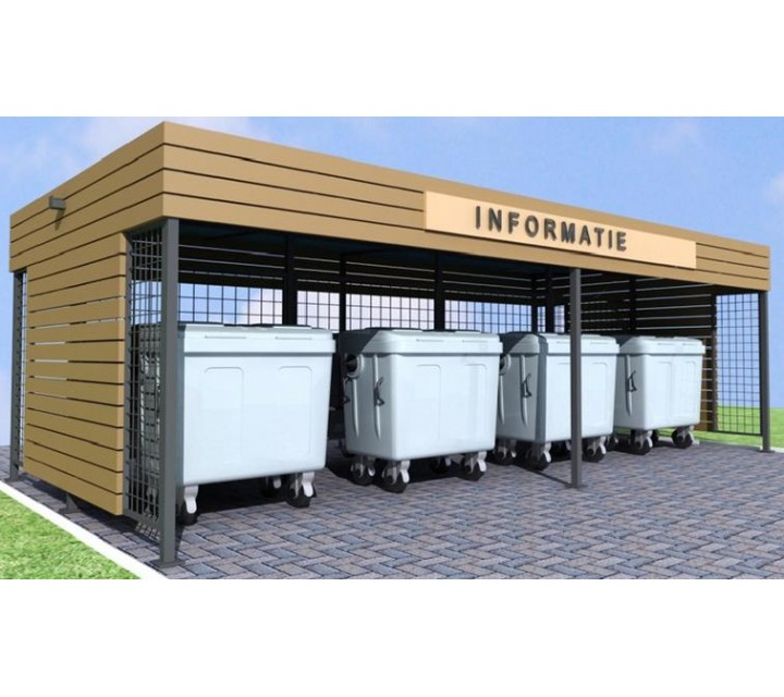 Сopertine pentru terenurile cu containere