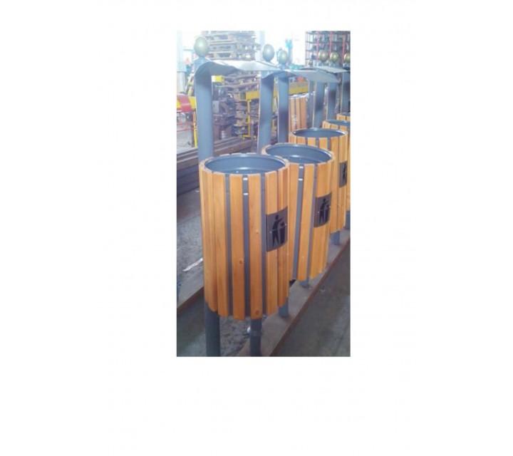 Coșuri pentru gunoi nr.37, 38 pentru betonare